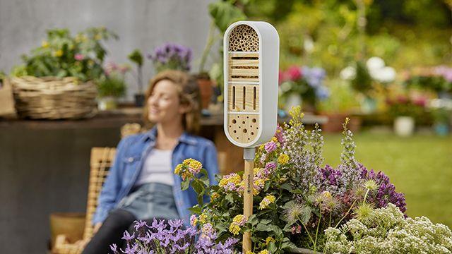 Hotel de insectos para el jardín de Gardena