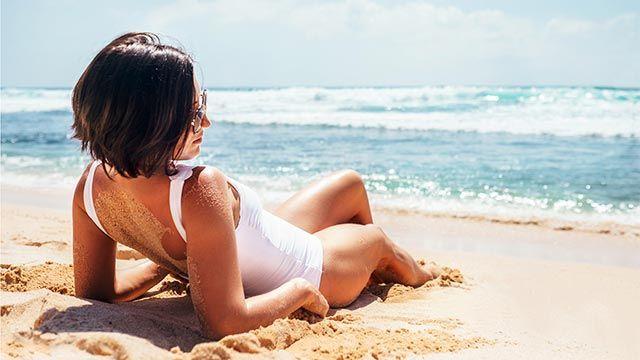 Las zonas que nunca protegemos del sol y tienen la piel más sensible