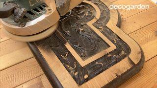 Pintar una silla de madera vieja de estilo mexicano - Paso 3