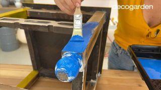 Pintar una silla de madera vieja de estilo mexicano - Paso 6