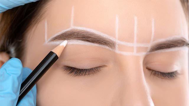 Cómo hacer el visagismo de cejas