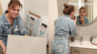 Revestimiento decorativo para las paredes del baño