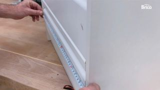como tunear una cómoda con madera paso 1