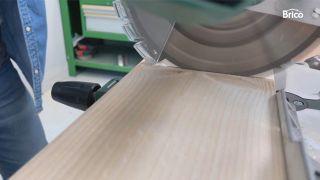 como tunear una cómoda con madera paso 2
