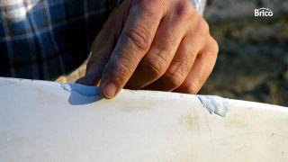 Cómo arreglar una piragua paso2