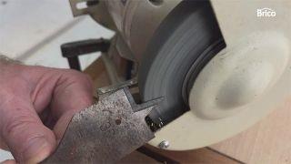 Cómo afilar una broca de pala paso 4