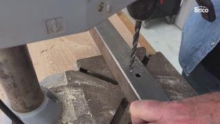 Cómo afilar una broca para metal paso 4