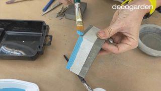 Cómo hacer macetas de cemento - Paso 10