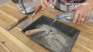 Cómo hacer macetas de cemento - Paso 2