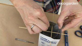 Cómo hacer macetas de cemento - Paso 4