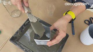 Cómo hacer macetas de cemento - Paso 5
