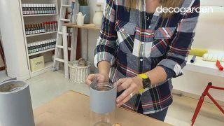 Cómo hacer macetas de cemento - Paso 6