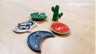 Platos de arcilla artesanales para anillos - Paso 10