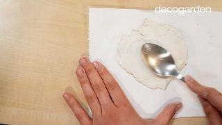 Platos de arcilla artesanales para anillos - Paso 3