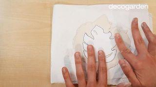 Platos de arcilla artesanales para anillos - Paso 4