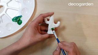 Platos de arcilla artesanales para anillos - Paso 7