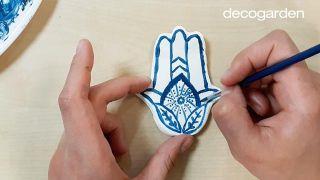Platos de arcilla artesanales para anillos - Paso 8