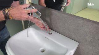 cómo pintar un lavabo paso 10