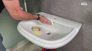 cómo pintar un lavabo paso 5