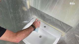 cómo pintar un lavabo paso 8
