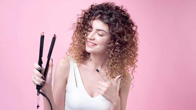 Cómo rizar el pelo corto y darle más volumen - Plancha