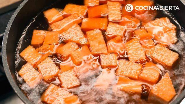 Arroz con habichuelas, un plato típico de la cocina murciana - Paso 4