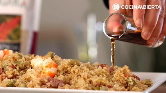 Ensalada de quinoa y gambas: ¡una receta fresca y nutritiva rica en proteínas! - paso 6