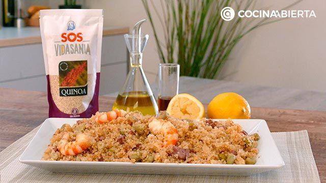 Ensalada de quinoa y gambas: ¡una receta fresca y nutritiva rica en proteínas! - paso 7
