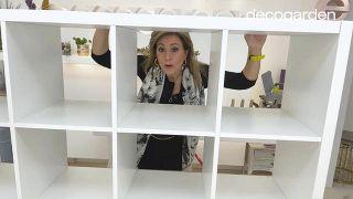 Transformar la estantería Kallax de Ikea - Paso 1