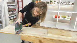 Transformar la estantería Kallax de Ikea - Paso 3