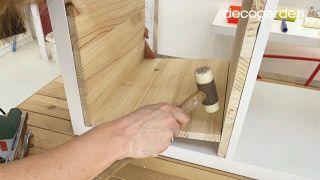 Transformar la estantería Kallax de Ikea - Paso 6