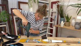 Cómo pintar un remo de madera - Paso 10