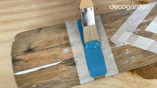 Cómo pintar un remo de madera - Paso 5