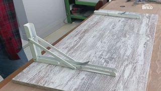 Hacer mesa plegable para el balcón paso 7