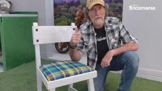 tapizar una silla de comedor