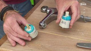 arreglar grifo que gotea monomando paso 4
