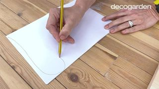 Cómo hacer cuadros de madera para la pared - Paso 1