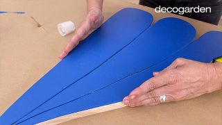Cómo hacer cuadros de madera para la pared - Paso 12