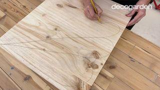 Cómo hacer cuadros de madera para la pared - Paso 2