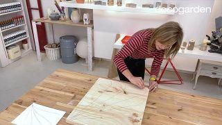 Cómo hacer cuadros de madera para la pared - Paso 3