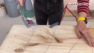 Cómo hacer cuadros de madera para la pared - Paso 4