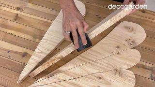 Cómo hacer cuadros de madera para la pared - Paso 6