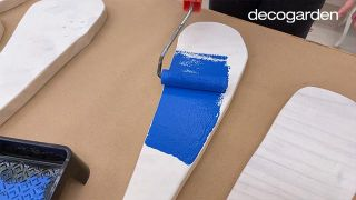 Cómo hacer cuadros de madera para la pared - Paso 9