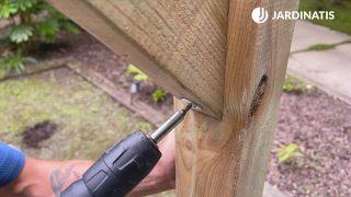 Cómo instalar una pérgola de madera en Kit
