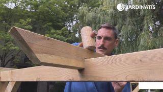 Cómo instalar una pérgola de madera en Kit - Paso 7