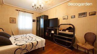 Dormitorio elegante con mini estudio nórdico - Paso 1
