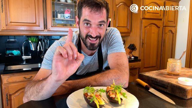 Ensalada de aguacate, tomate y bonito (con un aliño especial): ¡Joseba Arguiñano cocina desde casa! - consejo