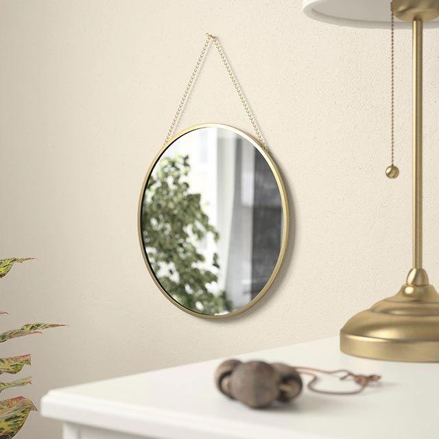 Espejo redondo de pared Lassbyn de Ikea