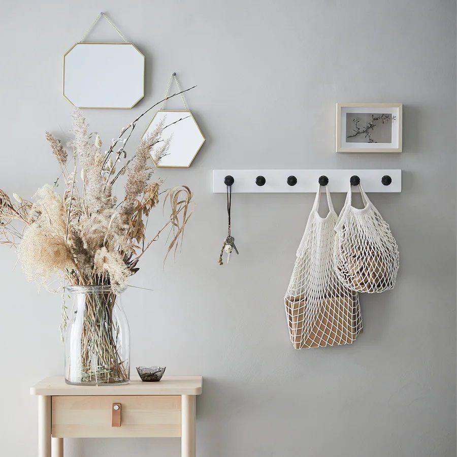 Pack de espejos geométricos Lassbyn de Ikea
