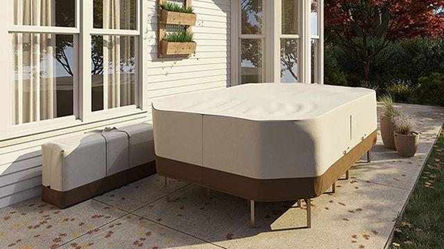 funda para lo muebles de jardín